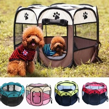 Pet Bed Dog House Cage Cat Outdoor Indoor Dogs Crate Kennel Nest Park Fence Playpen for Small Medium Big Puppy Supplies