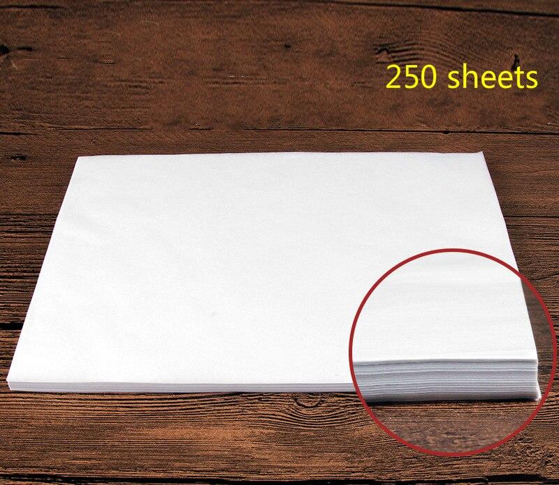 venda quente papel de copia de caligrafia transparente papel de rastreamento de alta qualidade papel de