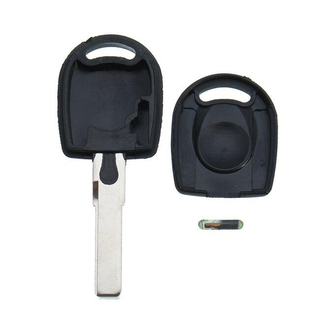 Car Transponder Key Case With Transponder Chip Id48 For Vw Polo