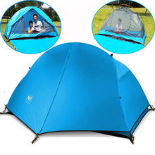 Camping Tent naturehike ultralight tents double layers waterproof beach tent 1 2 person Tourism fishing outdoor carpas gazebo