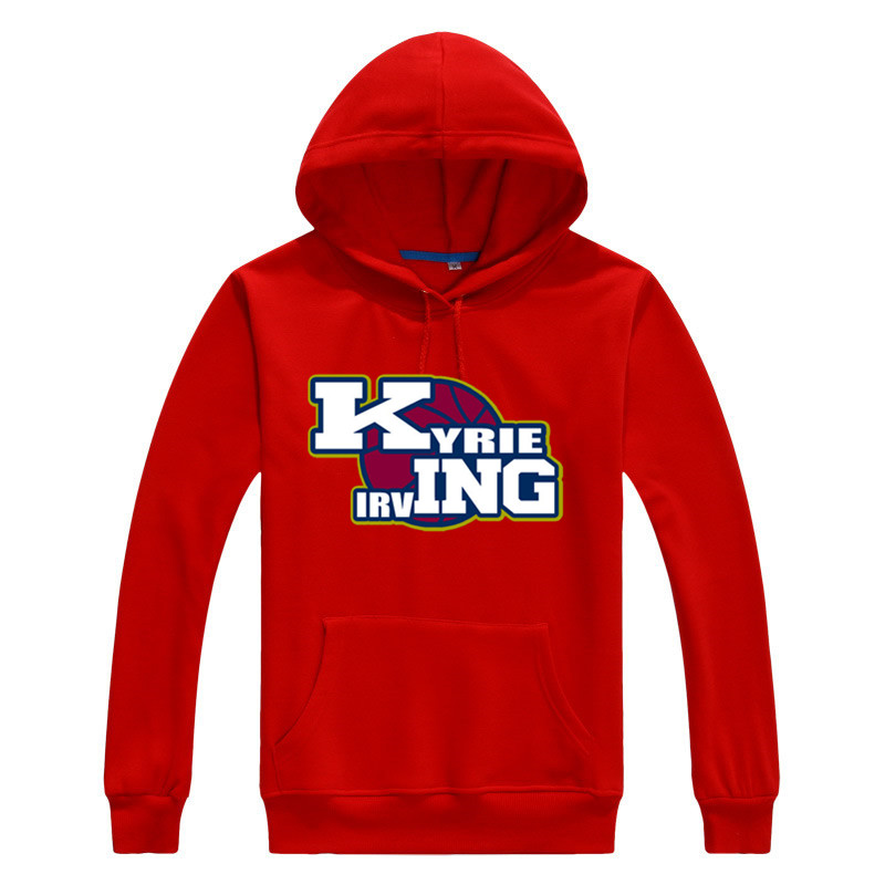 2016 2017 Kyrie Irving 2 Logo Men Sweashirt Women warm hoodies 1018-2