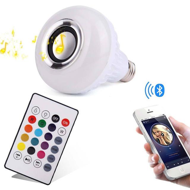 RGB Smart Bluetooth LED Light Bulb