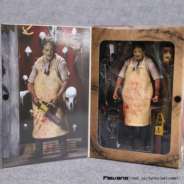 """Neca the texas chainsaw massacre pvc action figure collectible modelo toy 7 """"18 cm"""