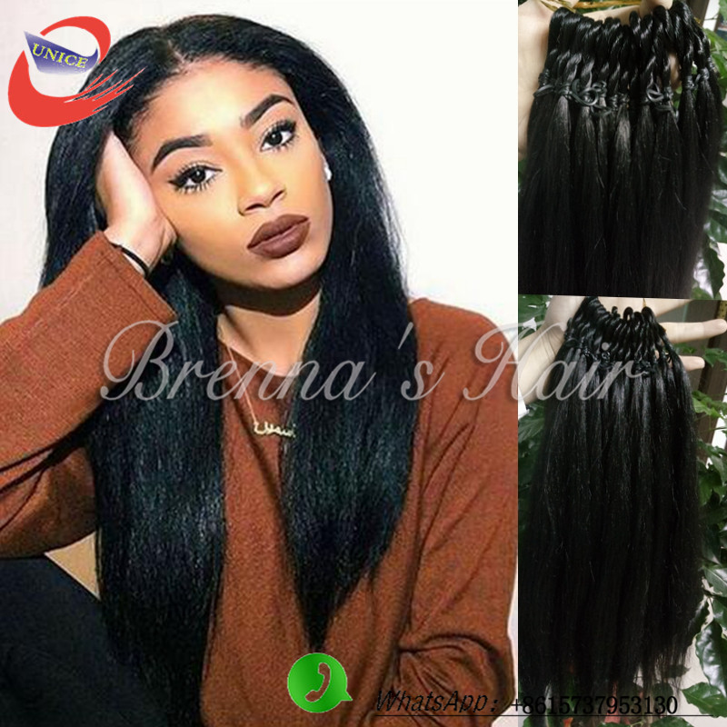 Crochet Braids Yaki Hair : yaki hair for crochet braids crochet hair extension synthetic braiding ...