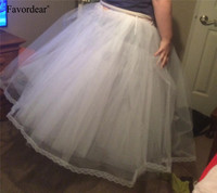 Favordear Long 8 Layers Hoopless Ball Gown Petticoats perfect for Wedding Dress Quinceanera gown special occasion dress