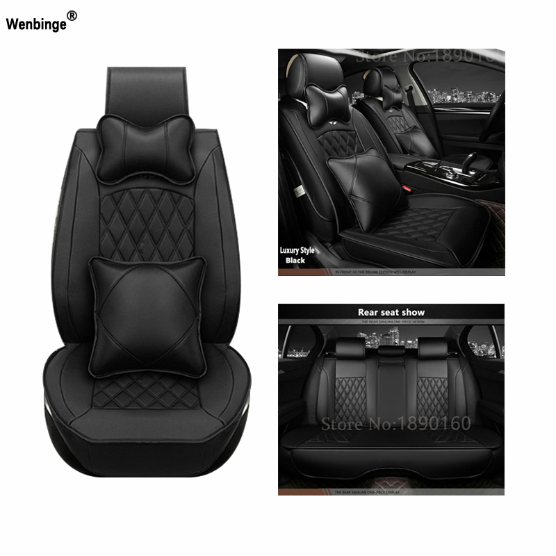 Universal PU Leather Car Seat Cover For Chrysler 300C PT