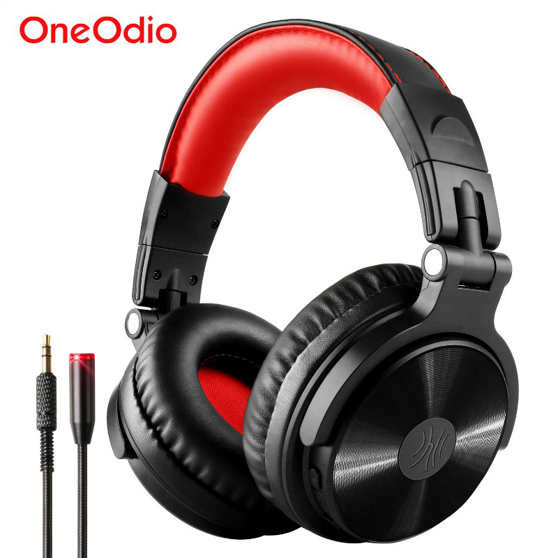 Oneodio Wireless Gaming Headset Headphones With Extended Microphone Noise Canceling Bluetooth V4.1 Headphone Handsfree Call oneodio professional studio headphones dj stereo headphones studio monitor gaming headset 3 5mm 6 3mm cable for xiaomi phones pc