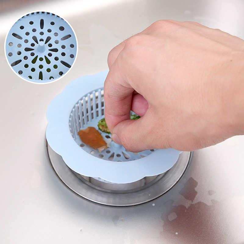 Lavabo süzgeci kapak aracı mutfak lavabo filtre ekran zemin drenaj saç Stopper el lavabo fişi banyo Catcher