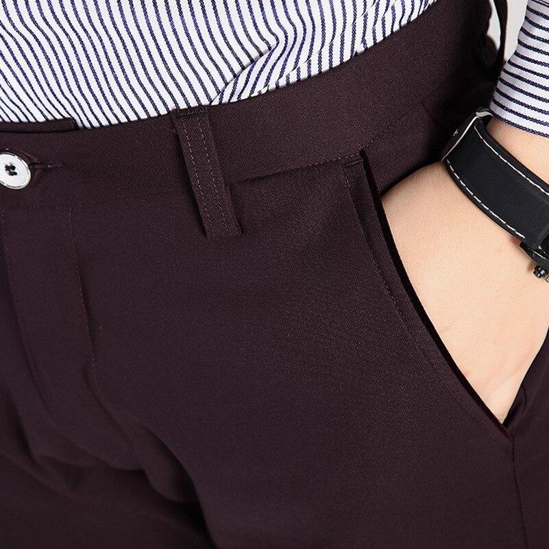 Hommes Couleur Slim Dîner Plus Pantalon Red Robe Style Nouveau wine Taille Pieds La Noir Unie Loisirs Fit Straight r0xOIrw5