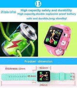 Image 3 - Kinder Smart Uhr GPS Kinder LBS Lage Sport Kind Smartwatch Wasserdichte Unterstützung SIM Karte Kamera Sicherheit Telefon Uhren Baby