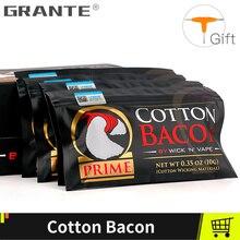 Grante Cotton Bacon Vape Gold Version For RDA RTA RBA Atomizer Accessories E Cigarettes