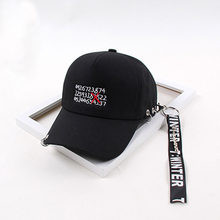 fc2a433d56067 Casquette 2018 Ulzzang Harajuku Ribbon Baseball Cap Korean Style Fashion  Novelty letter Caps For Men Women