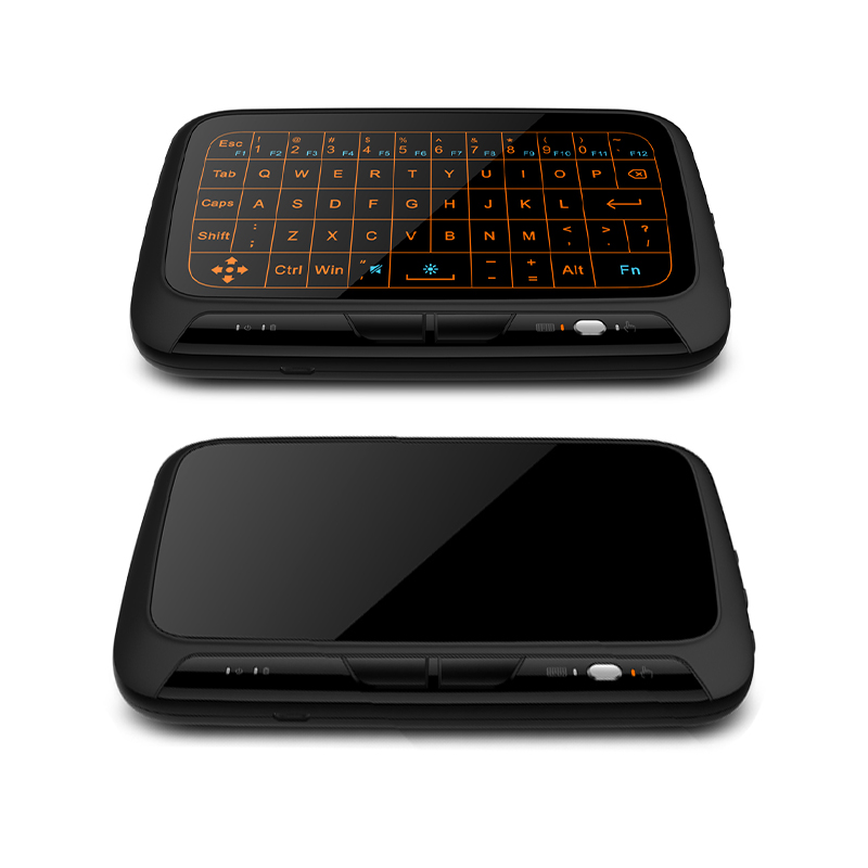 High Quality H18 2.4G Wireless Mini Backlight Keyboard with Large Touchpad for Raspberry Pi 3 for PC Laptop for Android TV Box