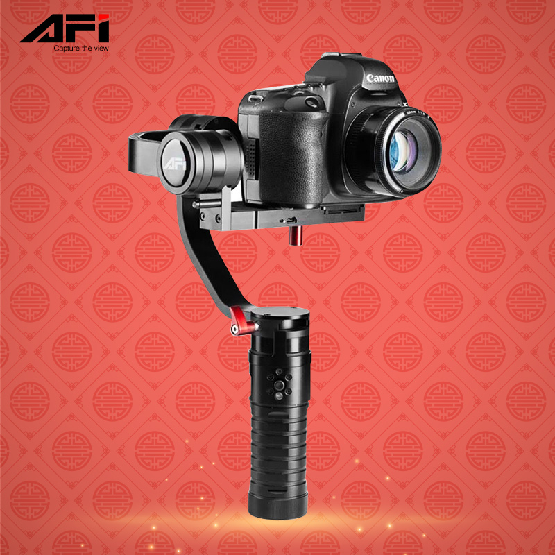 AFI VS 3SD 3 Axis Handheld Brushless Stabilizer Gimbal for Canon Nikon DSLR Camera Support Weight