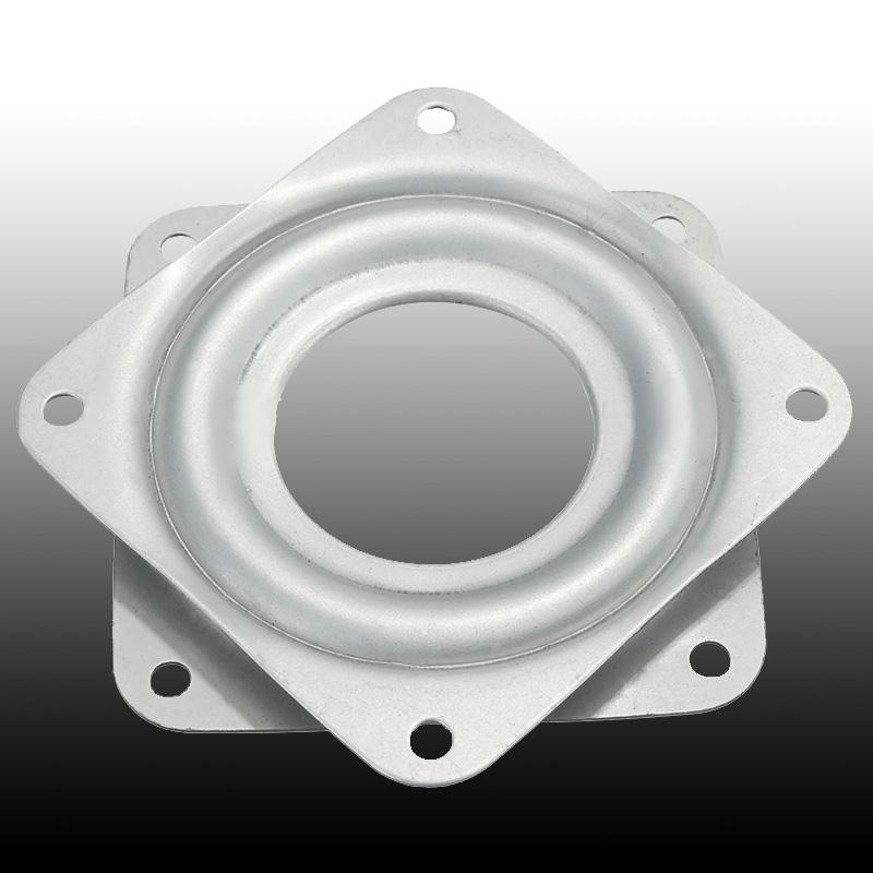 Cewaal Metal Bearing 360 Degrees Rotating Swivel Turntable Plate TV Rack Holder Desk 3 Professional Hone Decoration TV Mounts