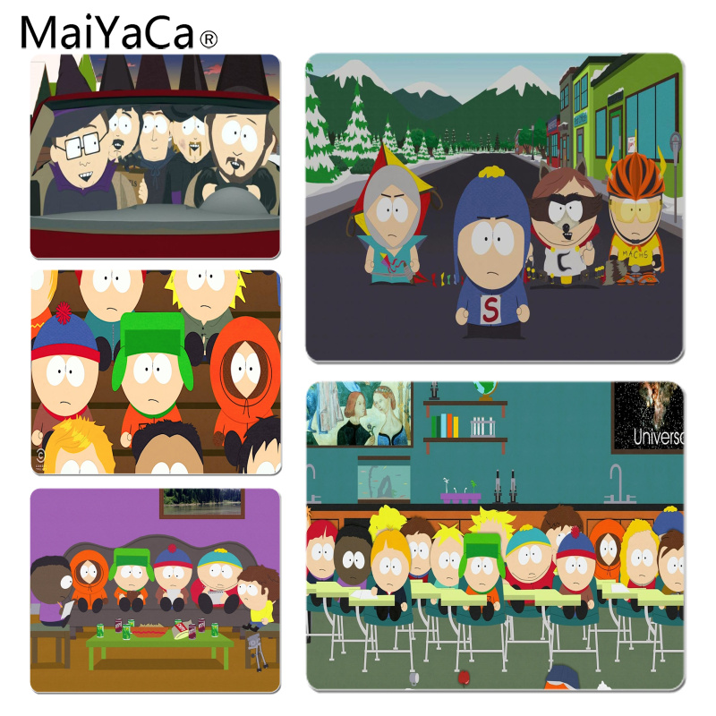 MaiYaCa In Stocked South Park Comfort Mouse Mat Gaming Mousepad Size for 18x22cm 25x29cm Small Mousepad