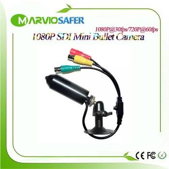 Marviosafer 1080P 2.4MP Mini bala SDI Cámara Max 60fps SDI cámara puede salida CVBS/TVI/AHD/TVI señal