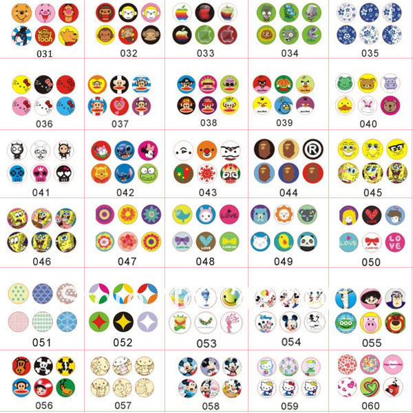 High Quality Jelly Home Button Sticker For Apple IPad/iPod Touch, For IPhone  5C Sticker Buttons 120PCS/1Lot BS AP In Mobile Phone Stickers From  Cellphones ...