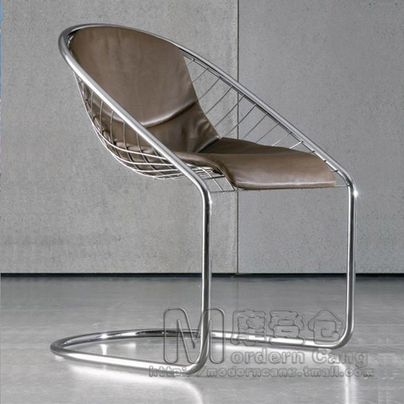 Modern Warehouse Cortina Chair Ke Dina Dining metal wire chair ...