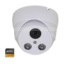 AHD 2.0MP HD 1080P 4mm Lens CCTV Plastics Dome Security Camera 2 Array IR
