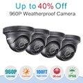 ANNKE Infrared CMOS Real 960P 1500tvl CCTV Camera HD Infrared Surveillance Camera Indoor/outdoor Security Bullet Camera 4pcs/lot