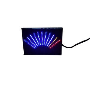 Image 1 - ASK11 LED オーディオ音楽スペクトラム表示レベル Vu メーター扇形ポインター