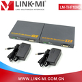 LINK-MI LM-THF109D 10km Single Mode DVI Extender Over Fiber Optic Cable With Stereo Audio Support 1080p/60H
