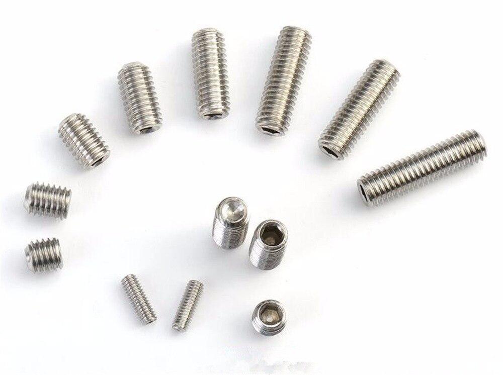 16 PCS Hex Socket Grub Screw M3 x 6mm