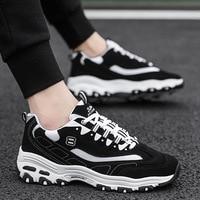 Men's 2019 spring breathable shoes men's increased old shoes white sports casual men's shoes zapatos de hombre