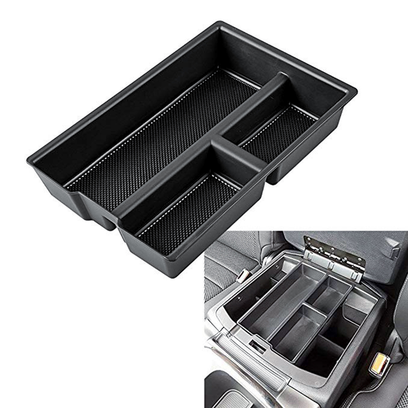Ram 1500 Accessories >> Us 13 14 46 Off For Dodge Ram 1500 Accessories 2009 2018 Armrest Secondary Storage Box Glove Pallet Center Console Tray Divider Stickers In Stowing