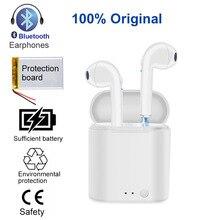 I7s tws fones de ouvido bluetooth Esportes fone de Ouvido fones de ouvido sem fio mini fone de ouvido Estéreo Com Caixa de Carga Para Android iphone xiaomi 3/4/5/6/ 8