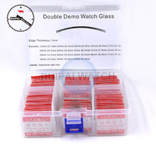 108pcs/lot Double Dome Watch Glass,Round Mineral Dia 23mm~40.5mm Daul Curved Watch Glass Replacement Parts for Watchmakers