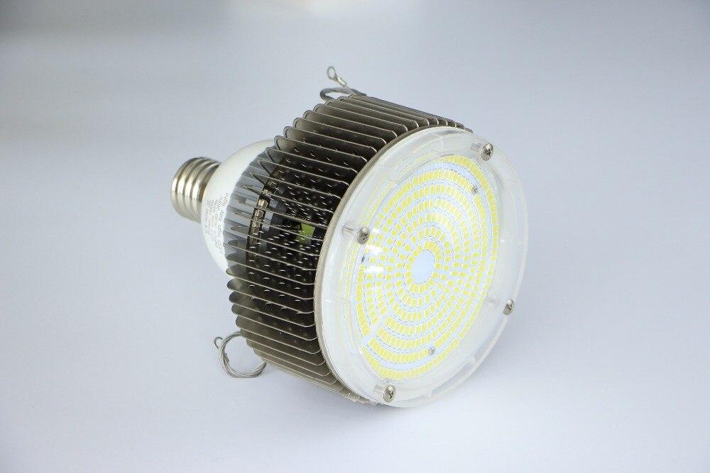 10 unids/lote Retrofit LED iluminación de alta Bahía 100 W E27/E40 llevó la luz Industrial ac 85 265 v blanco frío/blanco cálido envío gratis - 3