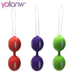 Ben Wa шарики интимные игрушки для женщин, Силиконовые Шарики Кегеля, умный шар любви для вагинальных плотных упражнений Вибраторы