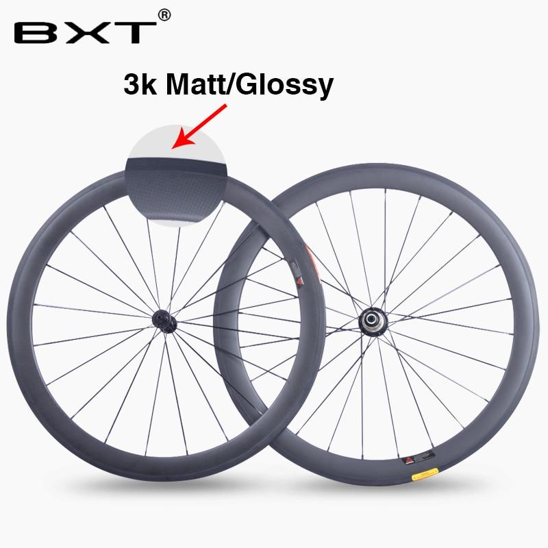 2018 BXT одежда высшего качества 700c колесная мм 50 мм довод 23 мм ширина карбоновый шоссейный комплект колес супер легкий китайский новый гоночны