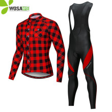 цена на WOSAWE Breathable Men's Cycling Jerseys Short Long Sleeve Jersey Quick Dry Bike Bicycle Clothing Skin Tight MTB Road Clothing