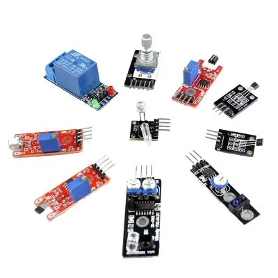 Steady 37 In 1 Box Sensor Module Kit For Arduino Starters Small Passive Buzzer Module Ky-006 2-color Led Module Ky-011 Etc High Quality Automobiles & Motorcycles