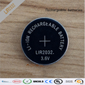 Nova! 10 pçs/lote LIR2032 3.6 V Li on recarregável botão Coin Battery celular pode substituir CR2032 para relógios