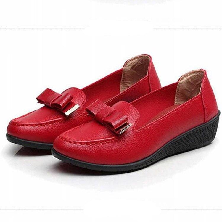 forme Xz787 Plate Coréenne Khaki Casual xz787 Chaussures xz787 Mode Sneakers Donna 2018 Slip Black Automne Sur Grey xz787 Red Scarpe 39 Dames Mocassins De Femmes Appartements PPAnvrU