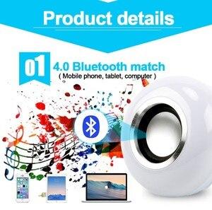 Image 2 - Bluetooth スピーカースマート Led 電球 E27 12 ワット音楽再生で調光可能な無線 Led ランプカラフルな RGB 24 キーリモート制御