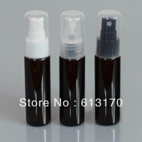72a388645 30 ملليلتر براون البلاستيك زجاجة بخاخ زجاجة إعادة الملء عطر بخاخ زجاجة رذاذ  غطاء كامل الشحن مجانا