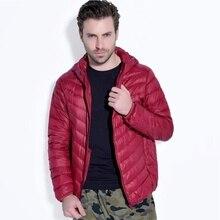 ZOGAA Brand 2019 new men jacket winter  Casual fashion streetwear puffer 5 color Hooded Zipper parka size plus S-3XL
