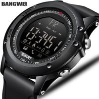 BANGWEI Sports Mens Smart Watch Men Pedometer Calories Waterproof Smartwatch Electronic Wrist Watches For Men Digital Bluetooth