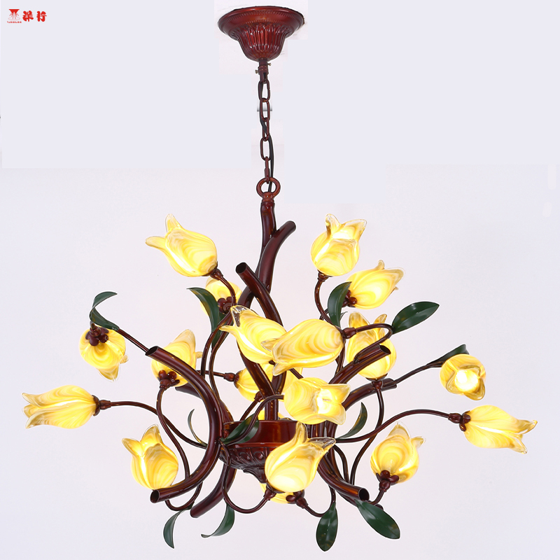 Italian design style iron art chandelier whith led bulbs Ceiling hanging lamp Bedroom Living Room Modern Lighting free shipping
