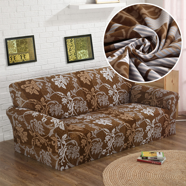 Wliarleo Europe Sofa Cover Strench Polyester For Couch Elastic Fl Fabric Slipcover Towel