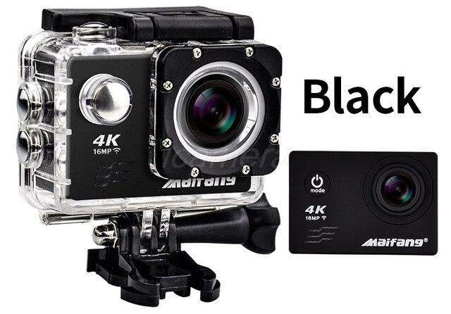 Action Camera Subacquea : Action camera mp k fps v wifi pollice d go cam pro f