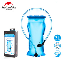 NatureHike 1.5L 2L 3L Outdoor Sports Drinking Water Bag Camping Hiking Cycling Water Bag Portable Folable PE Hydration Bag