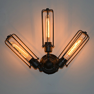 Edison Retro Loft Style Industrial Vintage Wall Light For Home Iron Antique Lamp Wall Sconce Indoor Lighting Lampara Pared loft style iron edison wall sconce industrial lamp wheels vintage wall light fixtures antique indoor lighting lampara pared 220v