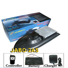 large fast electric rc bait fishing boat JABO 2AS Radio Control Fishing Boat Bait Boat Upgraded