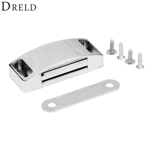 Dreld 1pc 5322mm Magnetic Door Catches Cupboard Wardrobe Magnetic